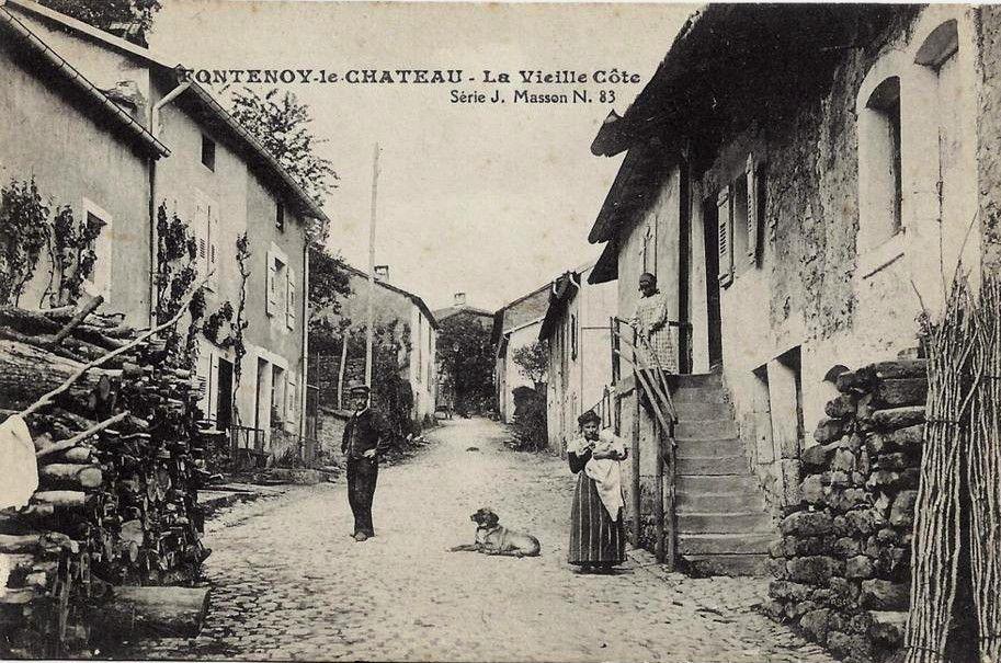 Fontenoy le Château autrefois