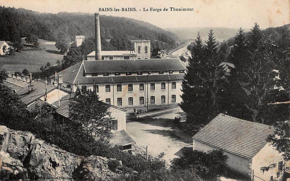 La Forge de Thunimont autrefois