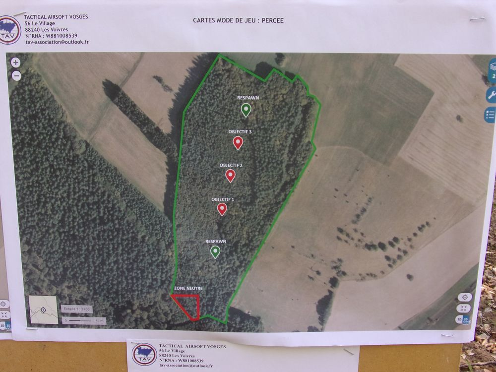 Evènement Tactical Airsoft Vosges
