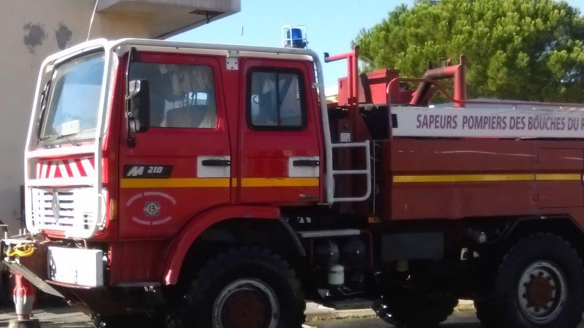 Visite caserne des pompiers