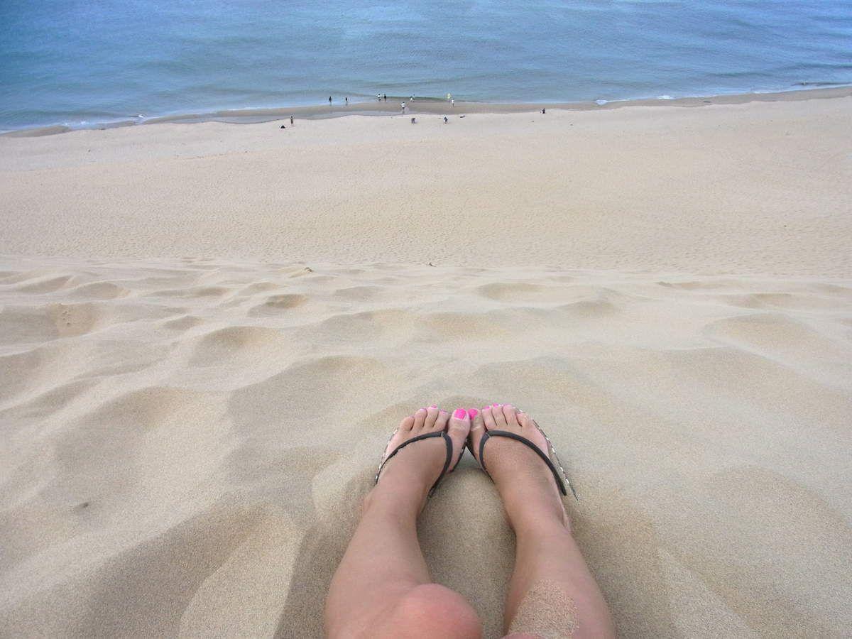 Préf. de Tottori : Les dunes de Tottori (鳥取砂丘 TOTTOLI SAKYU)