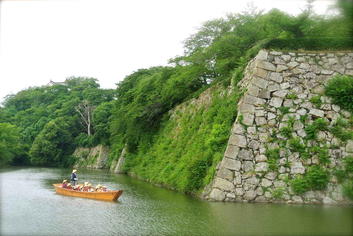 """Préf. de Hyôgo : Le chateau de Himéji 姫路城 ou """"Le Héron Blanc"""" (UNESCO)"""