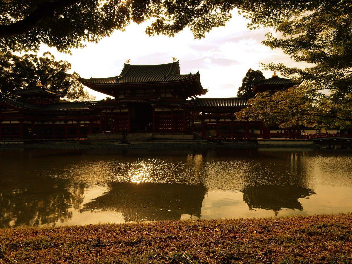 """Kyôto : Uji 宇治 : Byôdô-in 平等院 ou """"le Temple de l'Egalité"""" UNESCO"""