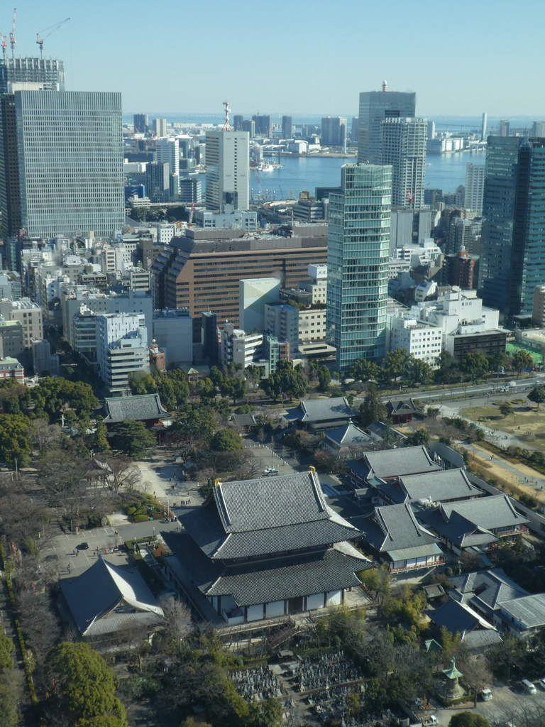 Vue sur le Zôjô-ji