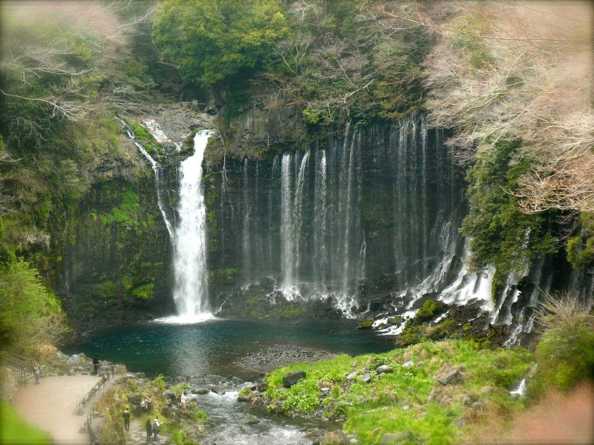 Préf. de Shizuoka: Les chutes de Shiraito 白糸 et Otodome 音止