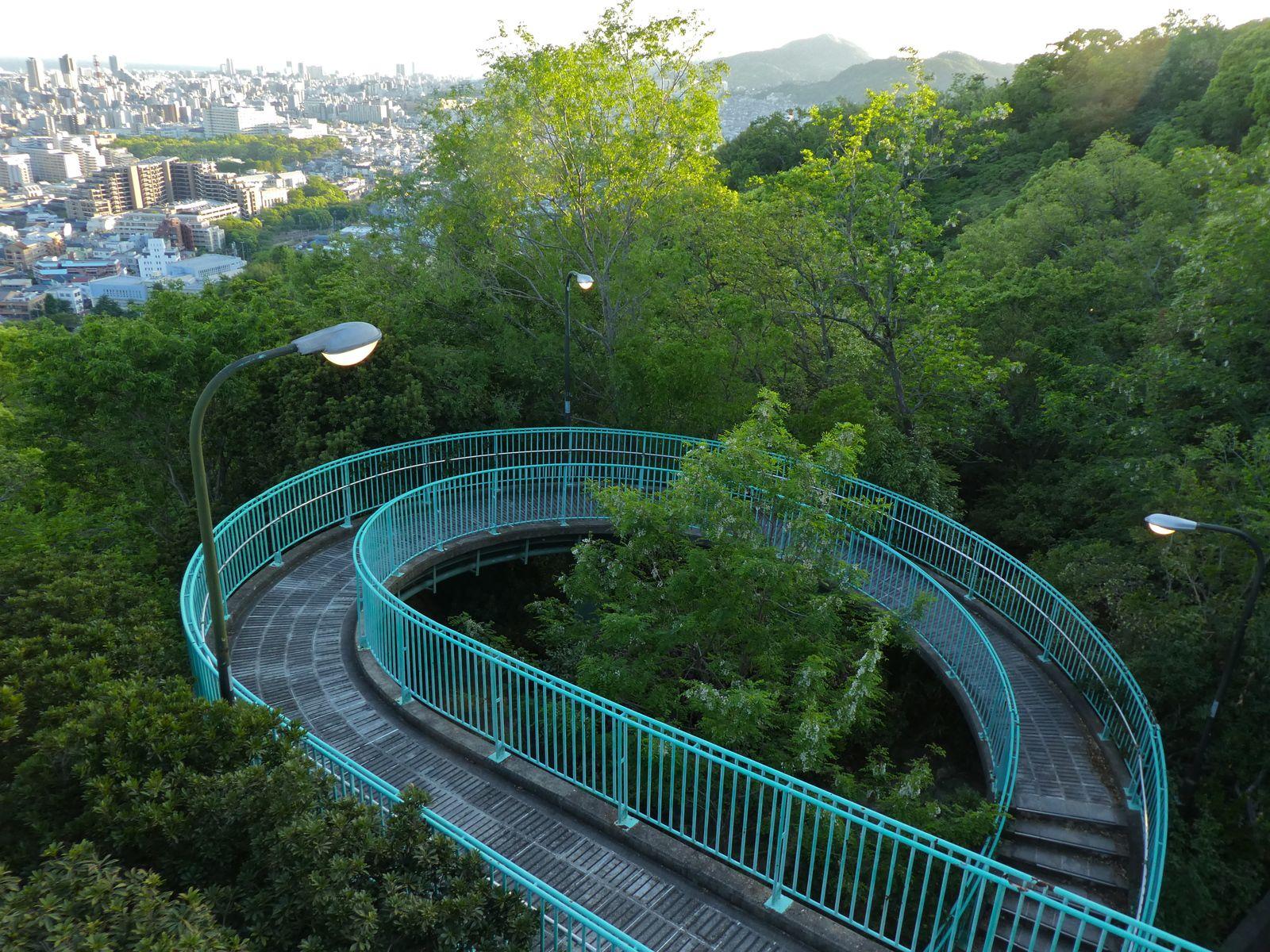 Kobe : Jolis petits lacs du mont Rokko et Pont de Vénus