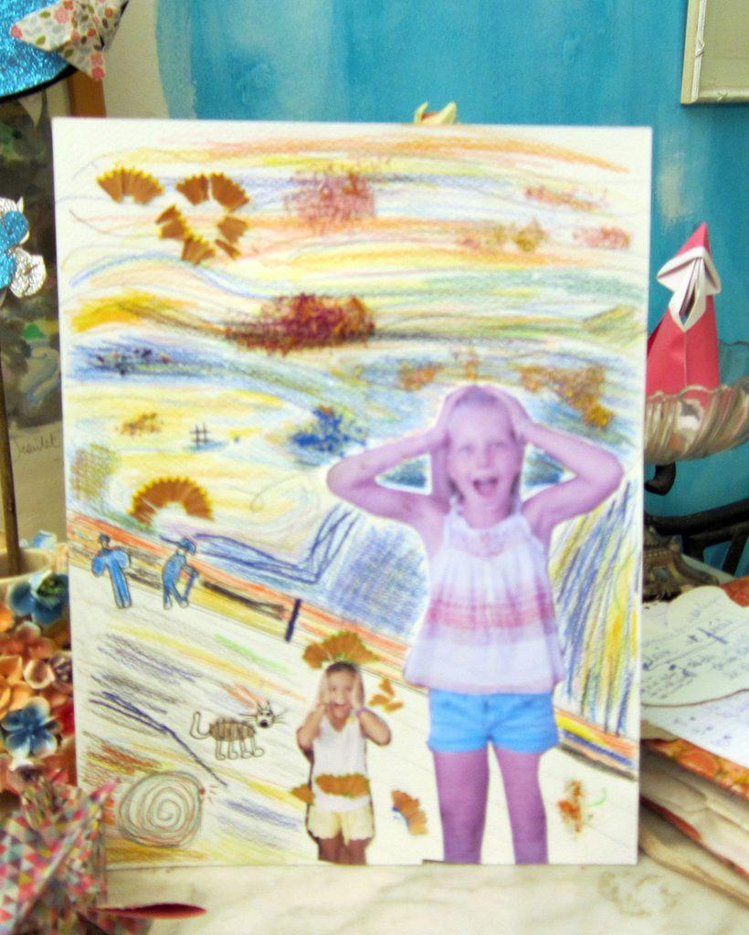 le cri munch cours de dessin enfants adolescents adultes nimes gard