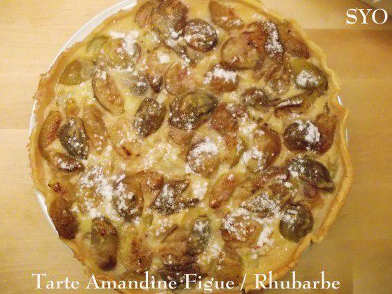La Tarte Amandine Figue et Rhubarbe du Petit Bistro