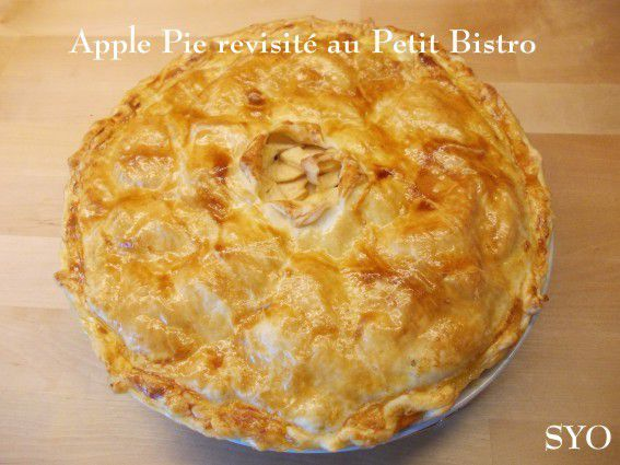 Apple Pie revisité au Petit Bistro.