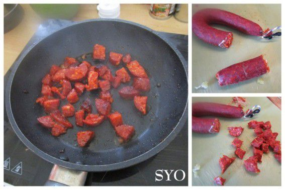 Quiche Espagnole, Tomate, Chorizo du Petit Bistro