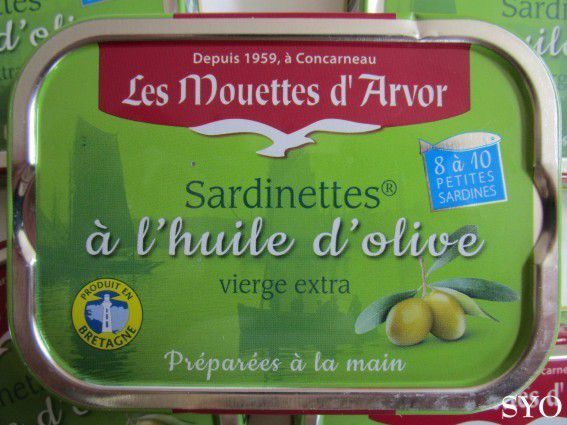 Craquelins au Quinoa et Sardinettes Mouettes d'Arvor