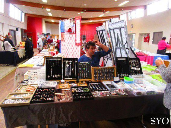 Expo-Vente Bannalec 2017: mise en place