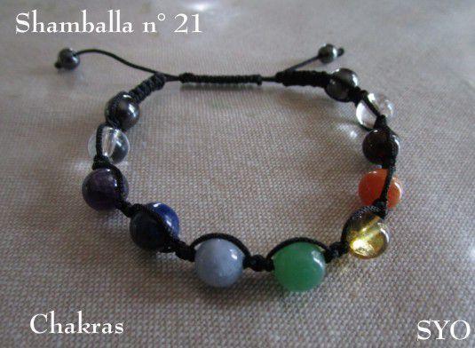 Shamballa  N° 21 :  Les 7 Chakras
