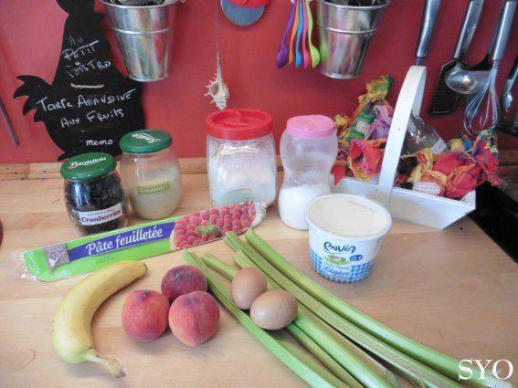 Tarte Amandine aux 5 Fruits du Petit Bistro de Mamigoz