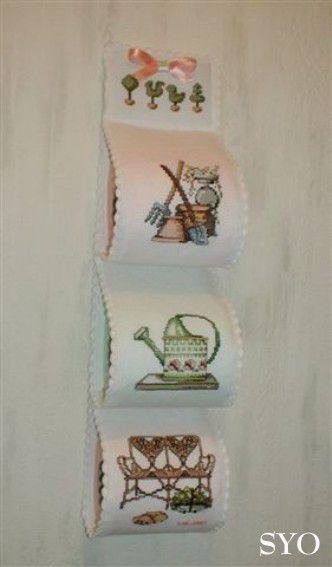 Petit SAL original  pour vos toilettes, quatrième  partie