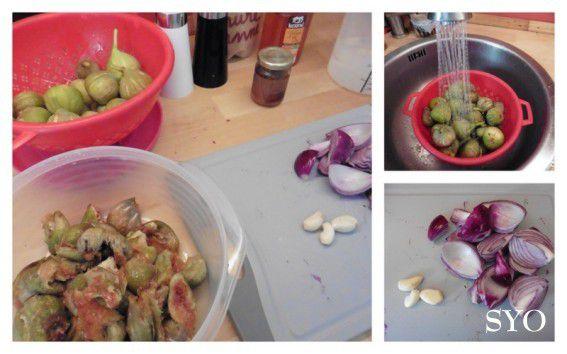 Chutney de figues  au Thermomix