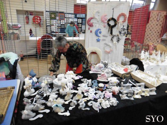 Expo-Vente Bannalec 2018: Installation des stands