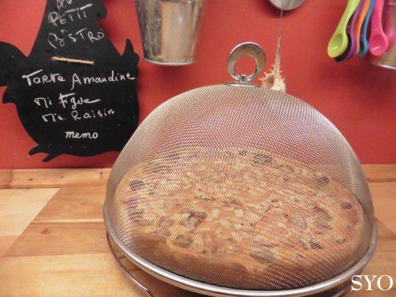 La Tarte Amandine Crémée Mi-figue Mi-raisin, du Petit Bistro