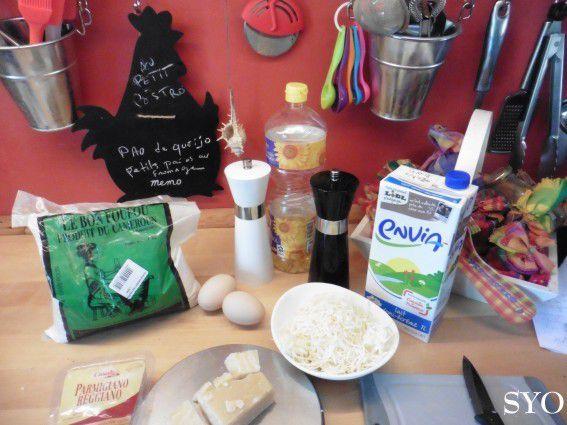 Pao de quéijo,  petits pains au fromage brésiliens