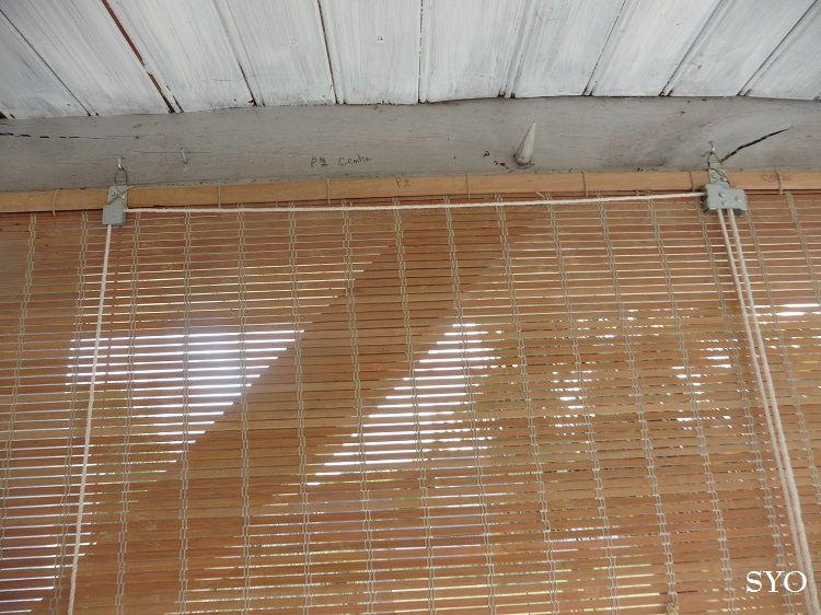 Restauration d'un Store Bambou 2: les Lamelles...