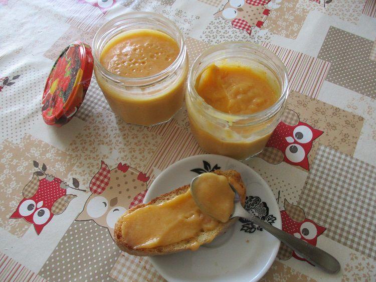 Le Lemon curd Abricot de Mireille
