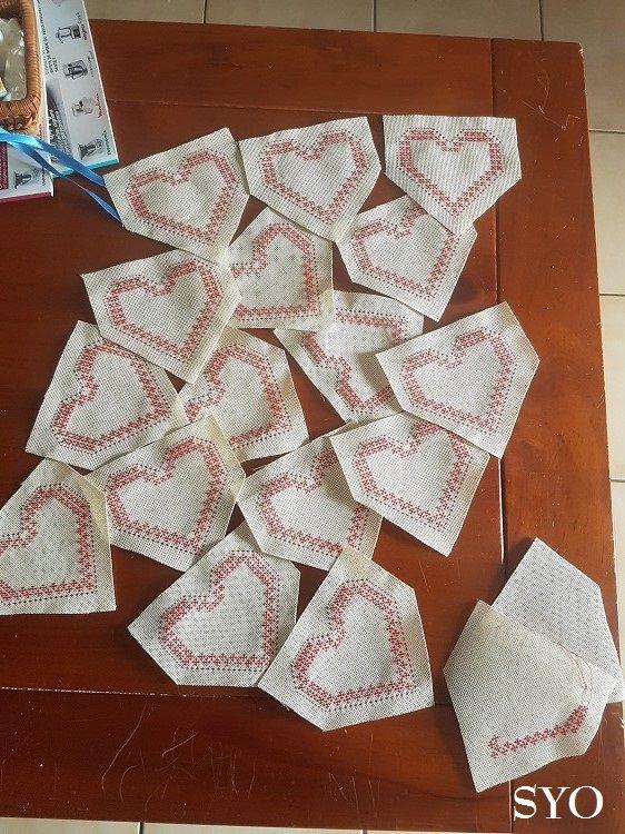 Cœurs Valentins en réserve