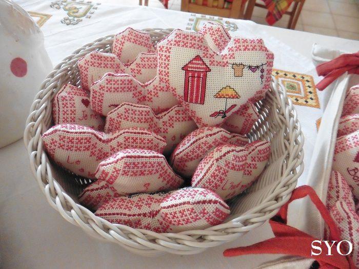 Vos cadeaux et mes Cœurs Valentin