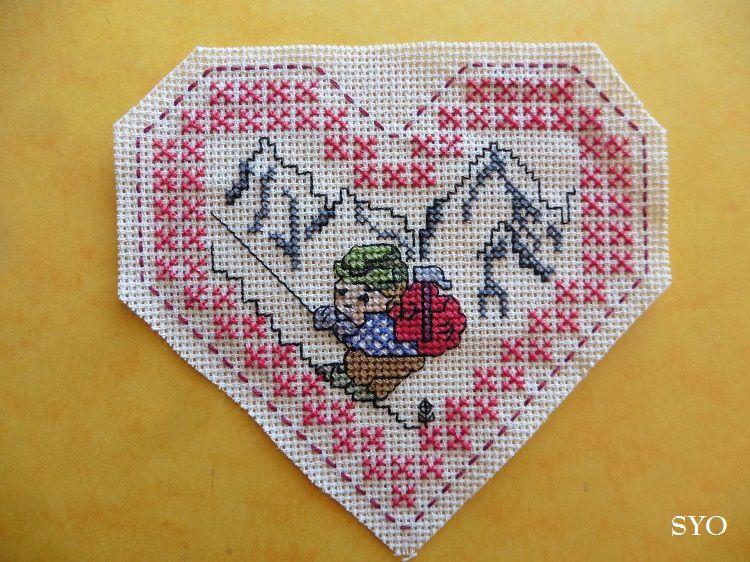 Cœur Valentin  Automne à la Montagne: face B