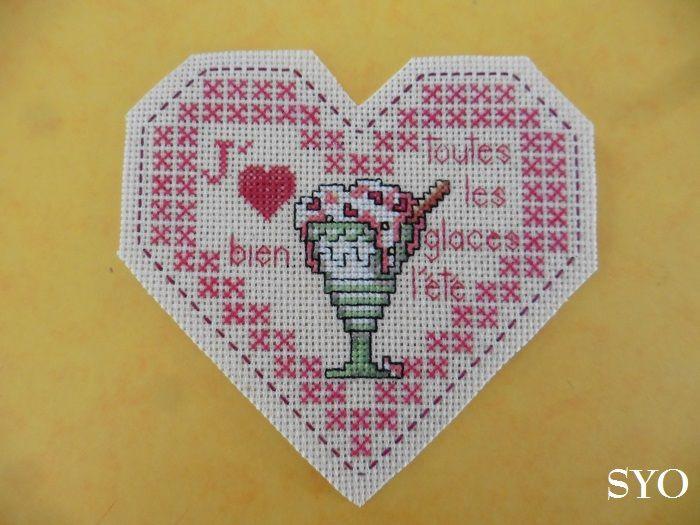 Cœur Valentin Gourmandises: Les Glaces de l'Ete , face A
