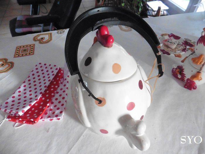 Les jolis masques offerts par Amélie