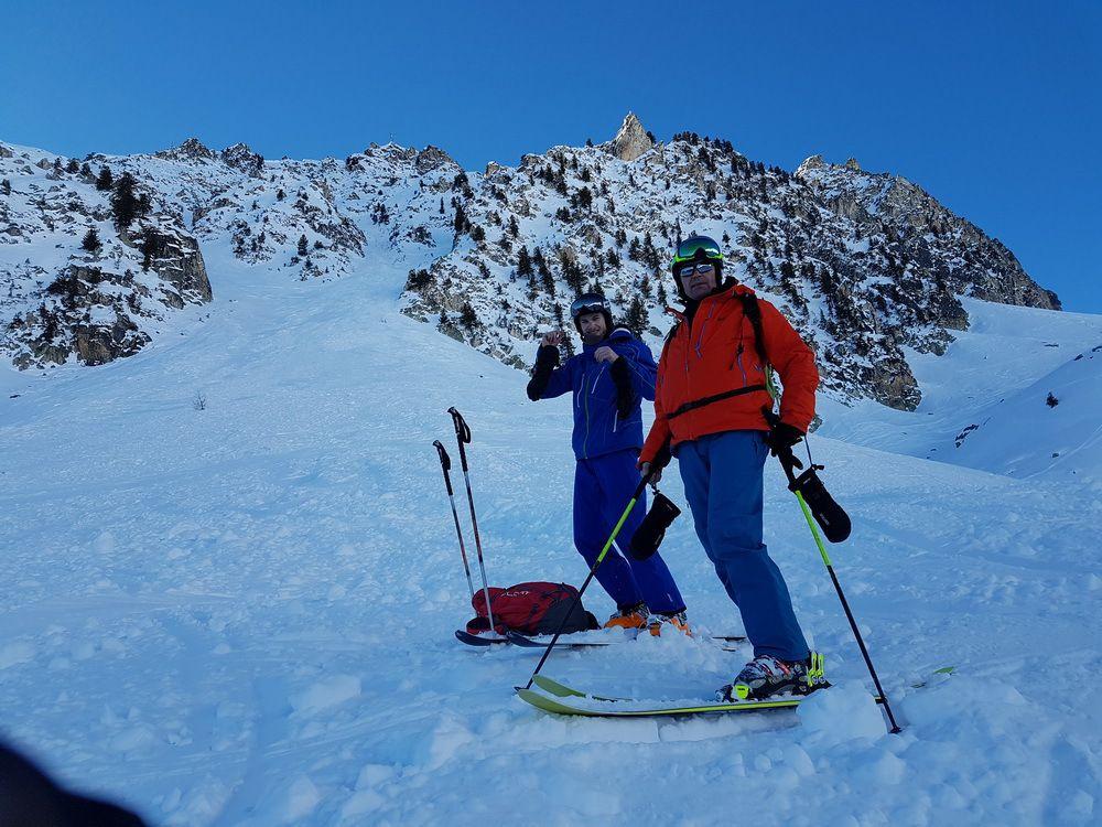 Ski de piste aux Arcs