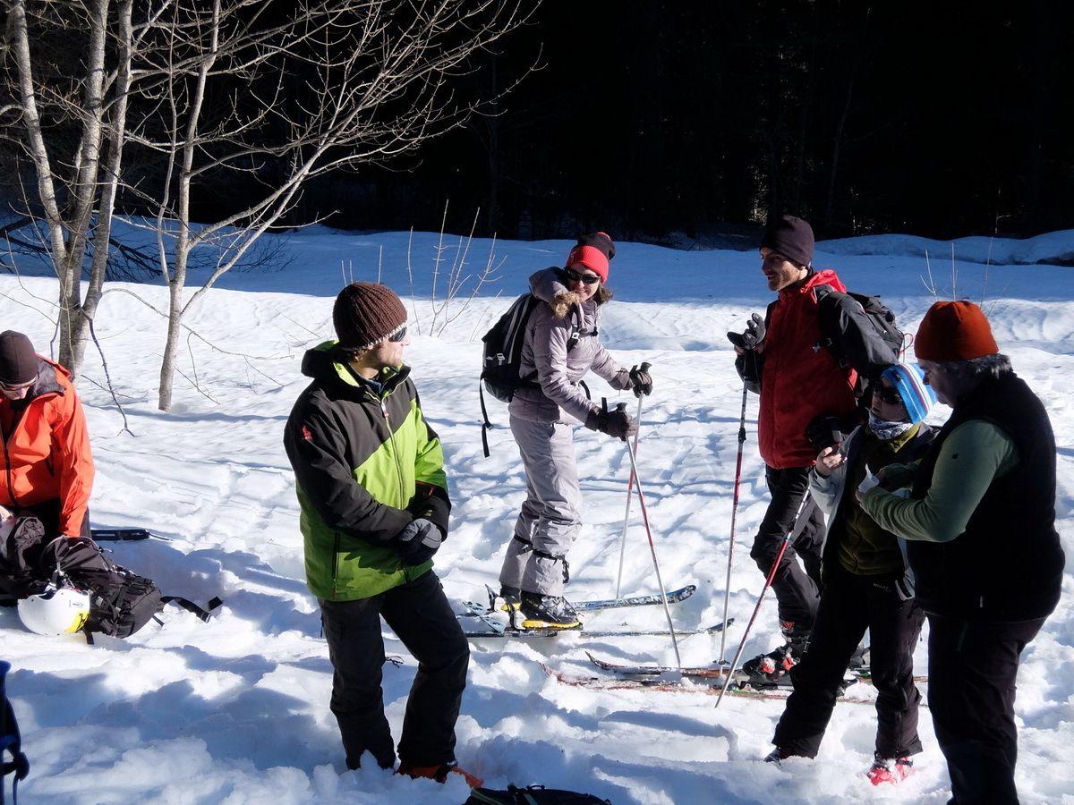 Col de Porte : recherche de victime d'avalanche