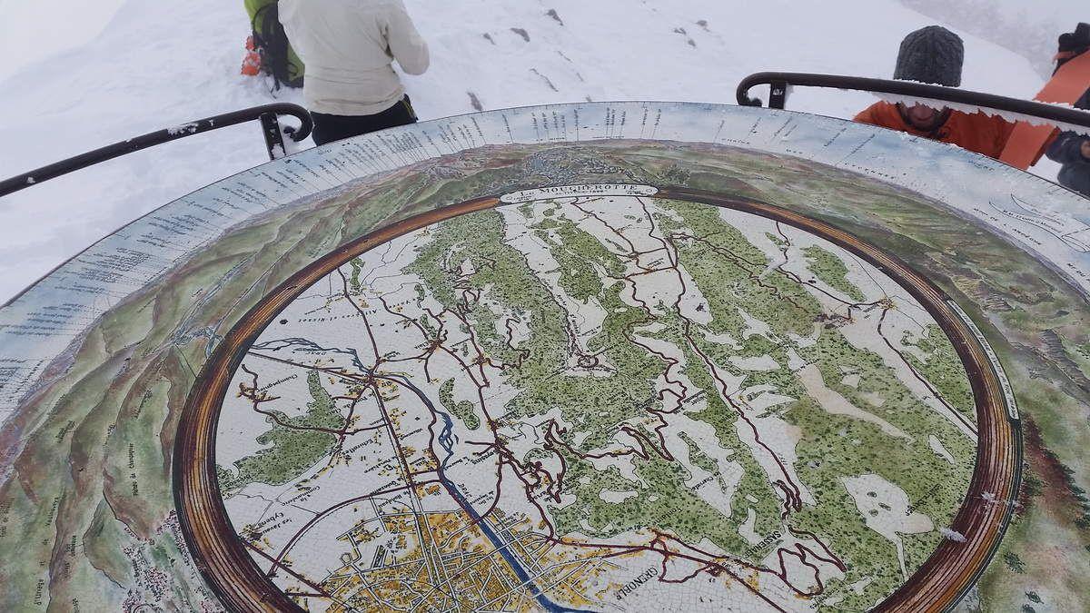 Ski de rando au Moucherotte