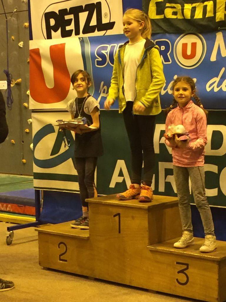 Championnat régional d'escalade Marignier La Moleinette
