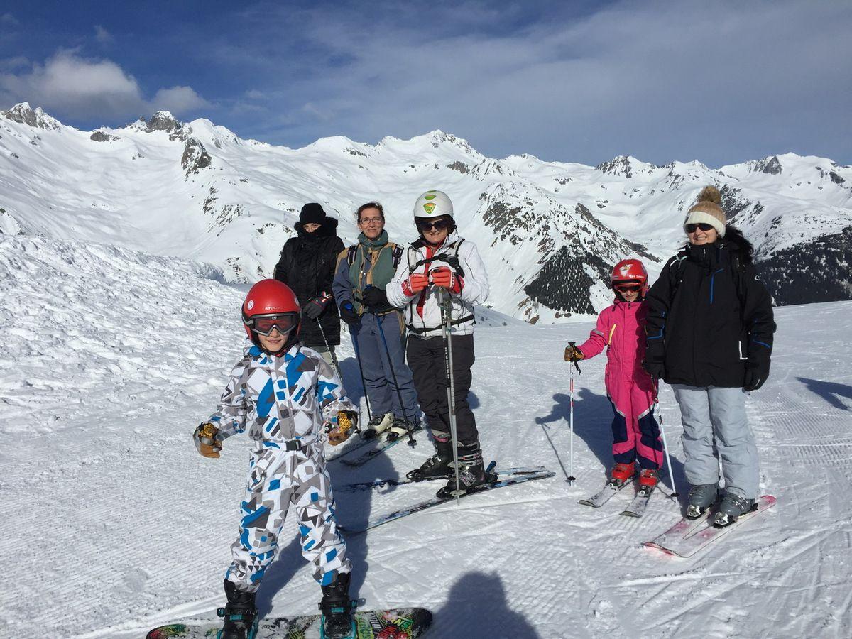 Ski de piste à Valmorel