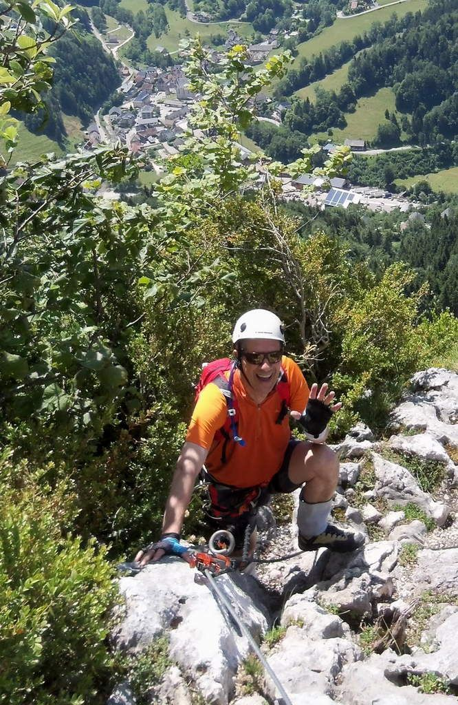 Via Ferrata Roche Veyrand
