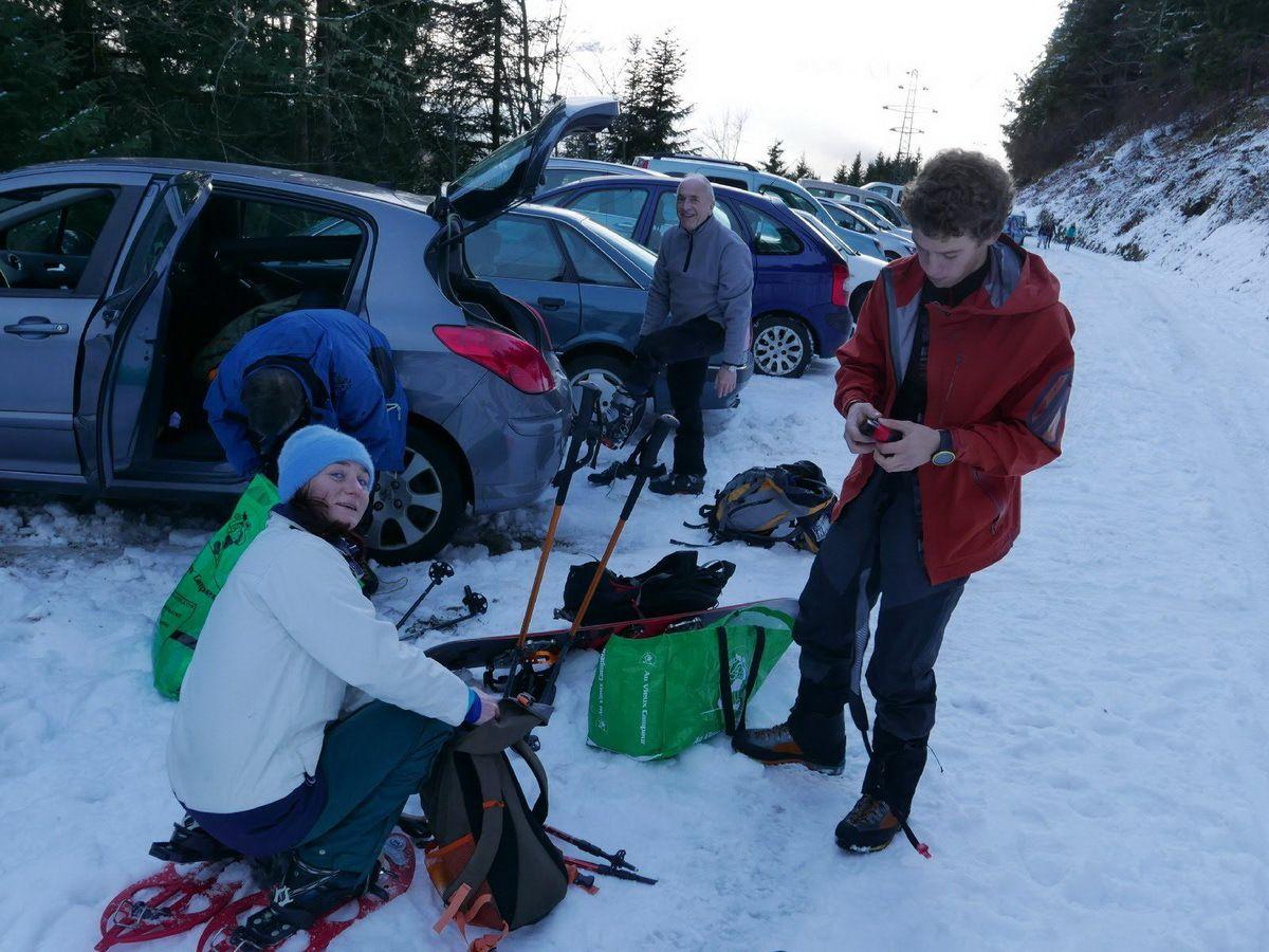 Raquettes / Ski de randonnée dans la combe du Vénétier