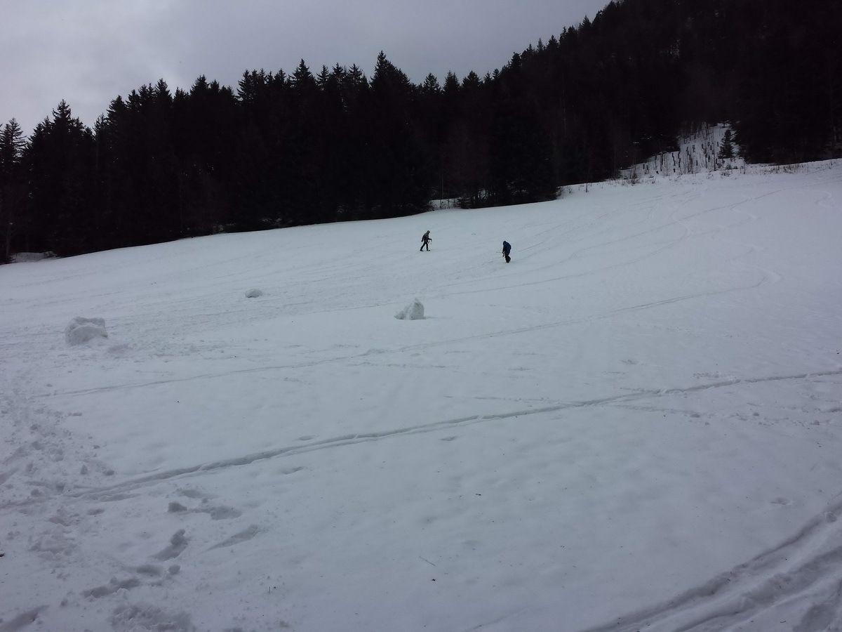Ski de randonnée au Moucherotte