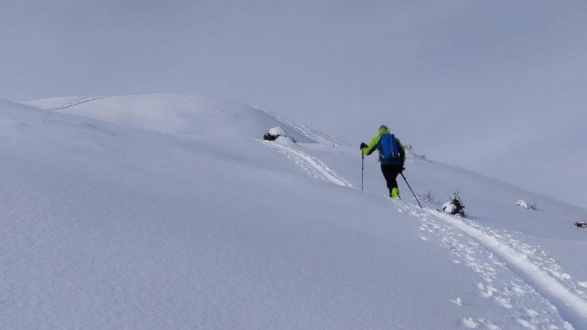 Ski de randonnée à la Grande Montagne d'Arvillard