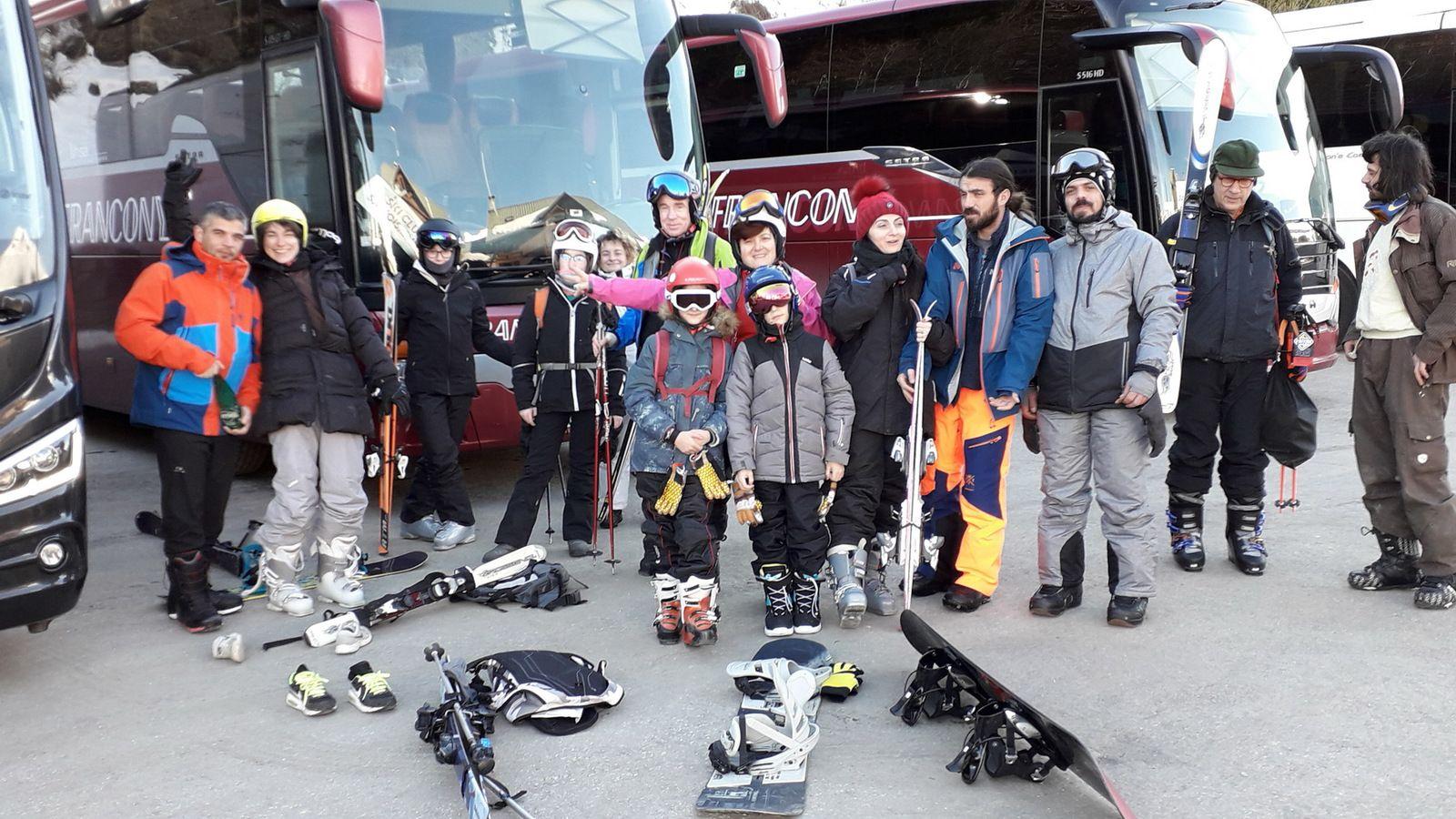 Ski de piste aux Menuires