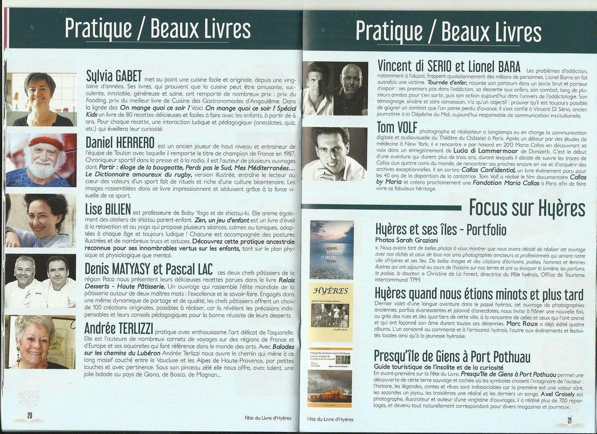 Programme détaillé - Pages 20 et 21