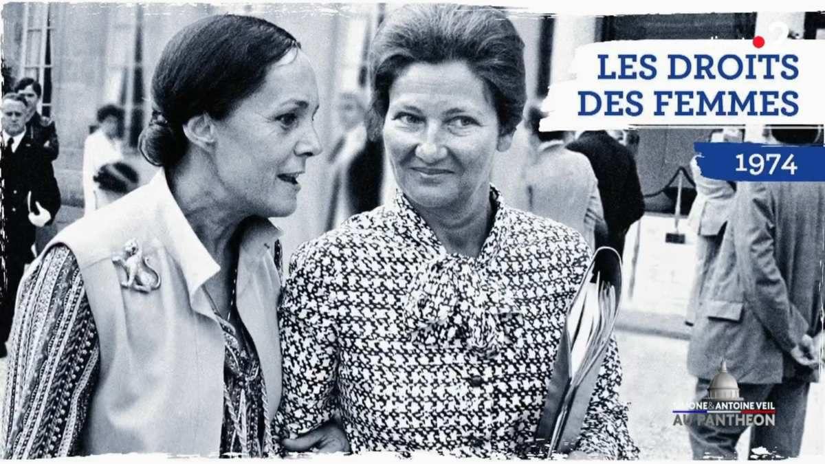 Hommage solennel de la Nation à Simone et Antoine VEIL - image France 2