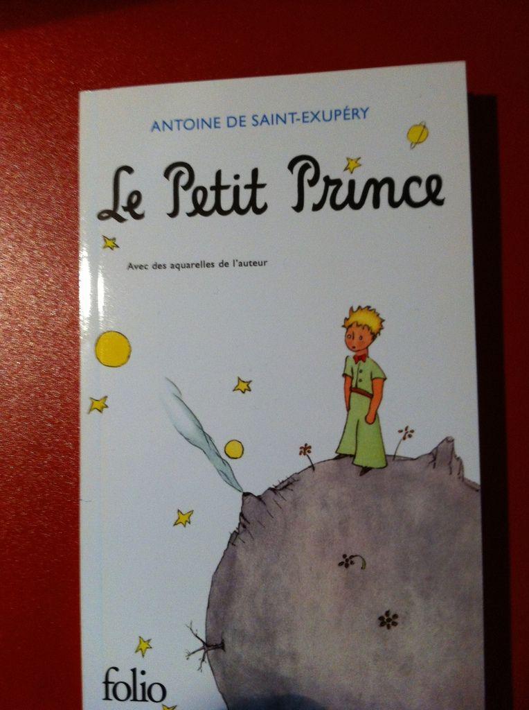 « Le Petit Prince », Antoine DE SAINT-EXUPÉRY - Folio - Première de couverture