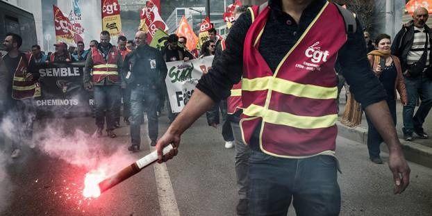 ELECTIONS à la SNCF : la CGT reste en tête au dépit de tous ceux qui l'attendaient au coin du bois !