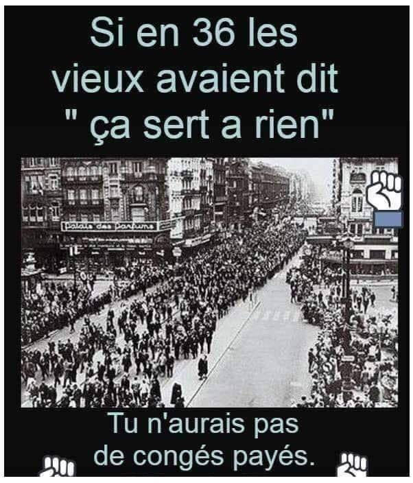 Manifestation vendredi 14 décembre 10h cours Guynemer Compiègne