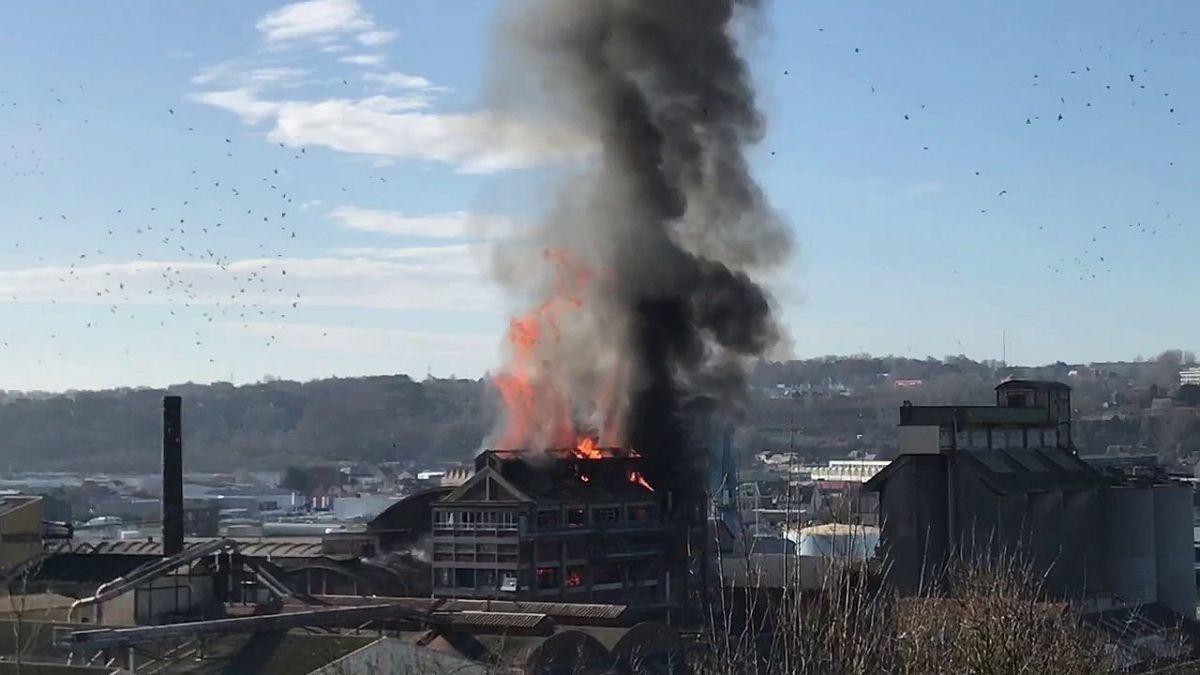 """Explosion de l'usine Saipol : pour la CGT, """"on a envoyé des sous-traitants au casse-pipe"""""""
