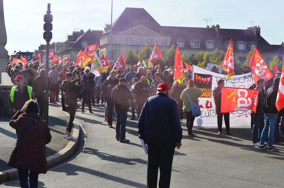 Manifestation Départementale 19 mars 2019 à Compiègne à 10h