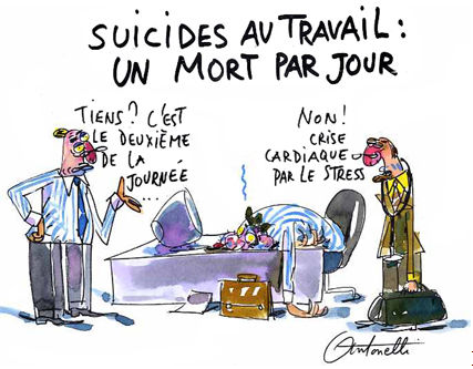 L'inspection du travail atteinte par une vague de suicides