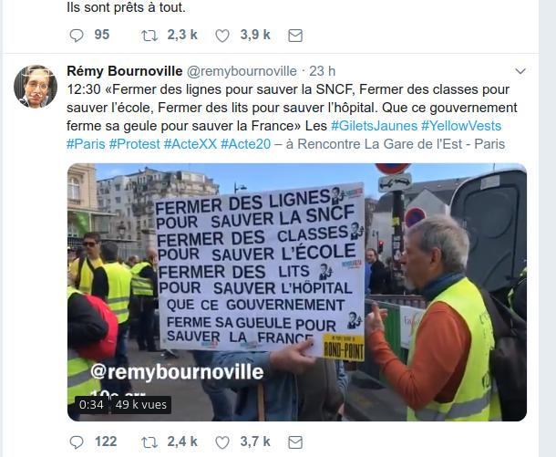 FERMER sa G ... POUR SAUVER la France !