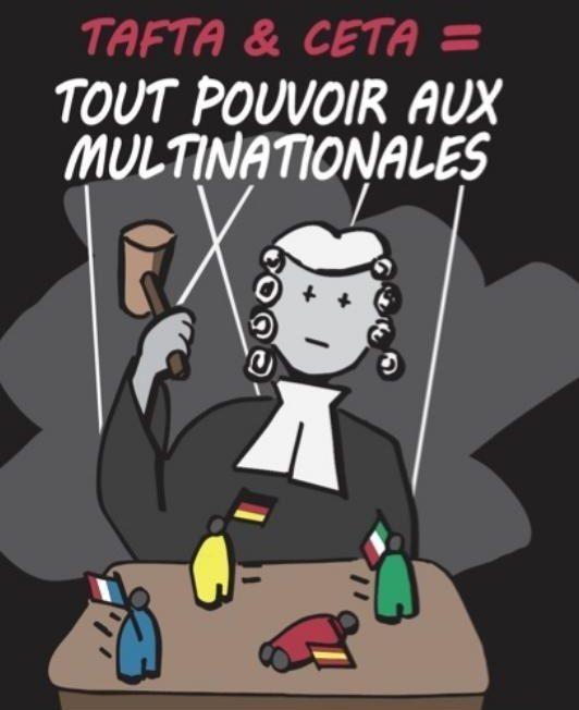 INTÉGRATION DU CETA DANS LE DROIT EUROPÉEN : UNE VICTOIRE DÉCISIVE DES MULTINATIONALES